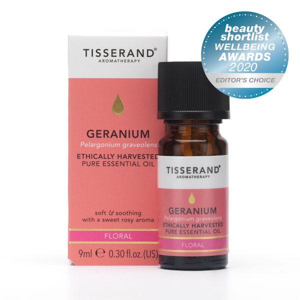 Tisserand Aromatherapy Geranium Essential Oil