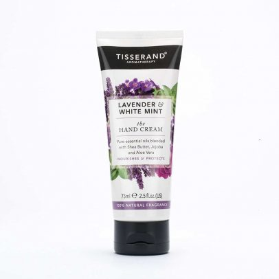 Tisserand Aromatherapy Lavender and White Mint Hand Cream