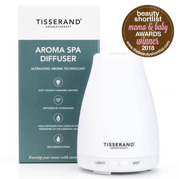 Aroma Spa Diffuser Beauty Shortlist Mama & Baby Award Winner 2018