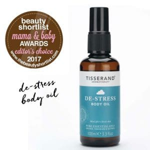 De-Stress Body Oil Beautyshortlist Mama & Baby Editors Choice