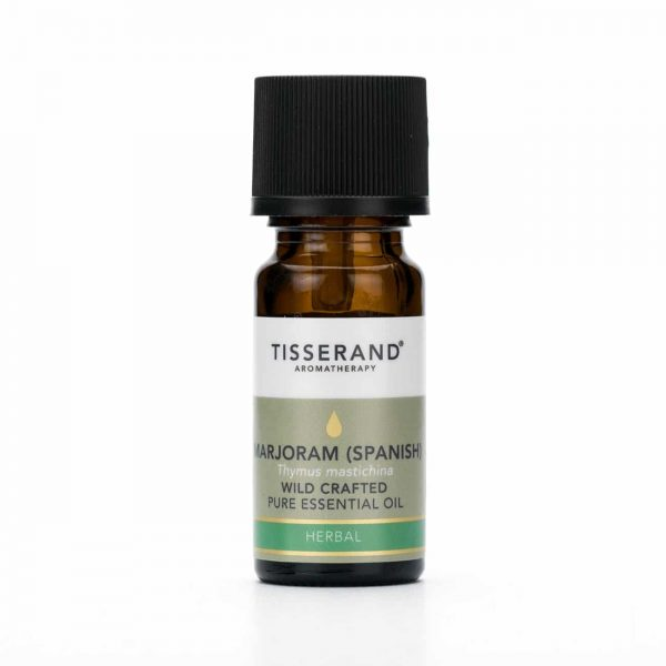 Marjoram (Spanish) Wild Crafted Pure Essential Oil 9ml