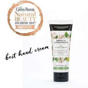 Neroli & Sandalwood Hand Cream Green Parent Bronze Award
