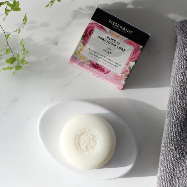 Rose and Geranium Leaf Soap
