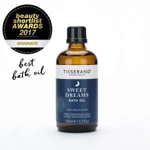 Sweet Dreams Bath Oil Beauty Shortlist Winner