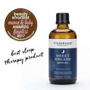 Sweet Dreams Bath Oil Beauty Shortlist Mama & Baby finalist
