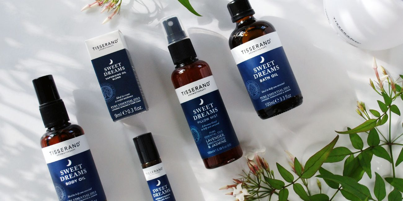 Tisserand Aromatherapy Sweet-Dreams In The Summer Heat