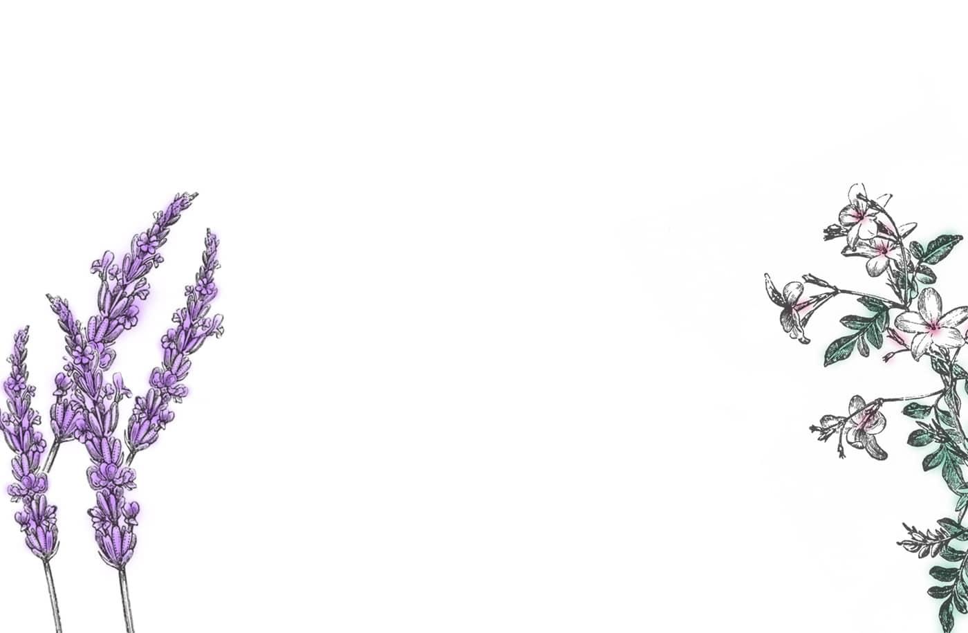 Wellbeing-lavender-jasmine-background