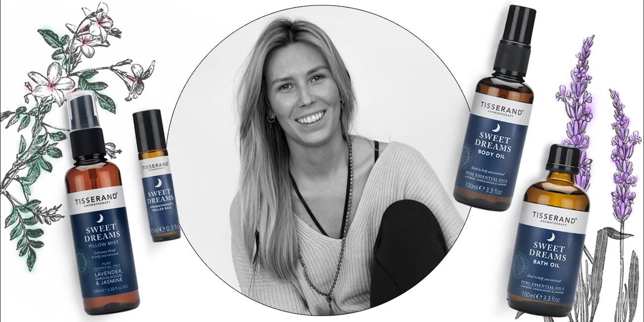 Sarah Eckersley Sleep Ritual Tisserand Aromatherapy