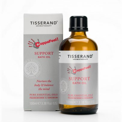 Tisserand Aromatherapy CoppaFeel! Support Bath Oil