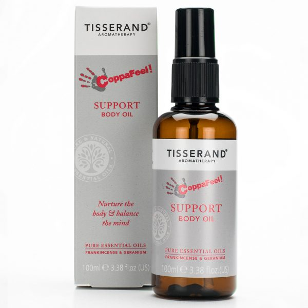 Tisserand Aromatherapy CoppaFeel Support Body Oil