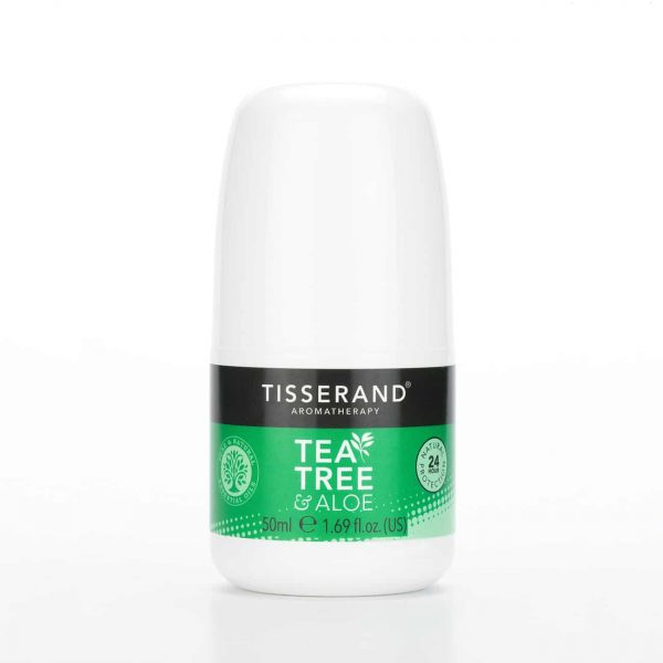 Tisserand Aromatherapy Tea Tree & Aloe Deodorant