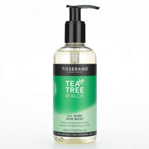 Tisserand Aromatherapy Tea Tree & Aloe All Over Skin Wash
