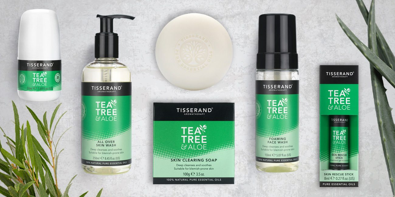 Tisserand Aromatherapy Tea Tree and Aloe
