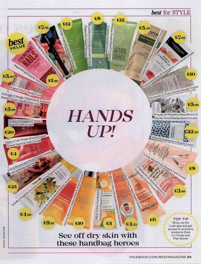 Best Mag - Rose & Geranium Leaf Hand Cream