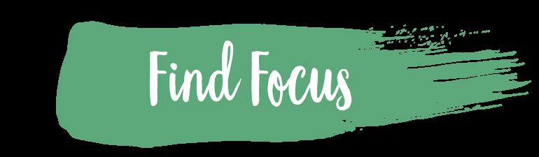 Find Focus banner title
