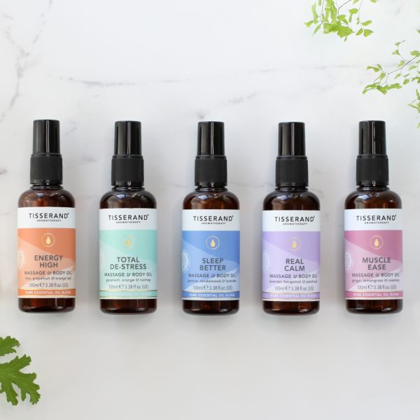 Tisserand Aromatherapy Massage and Body OIls