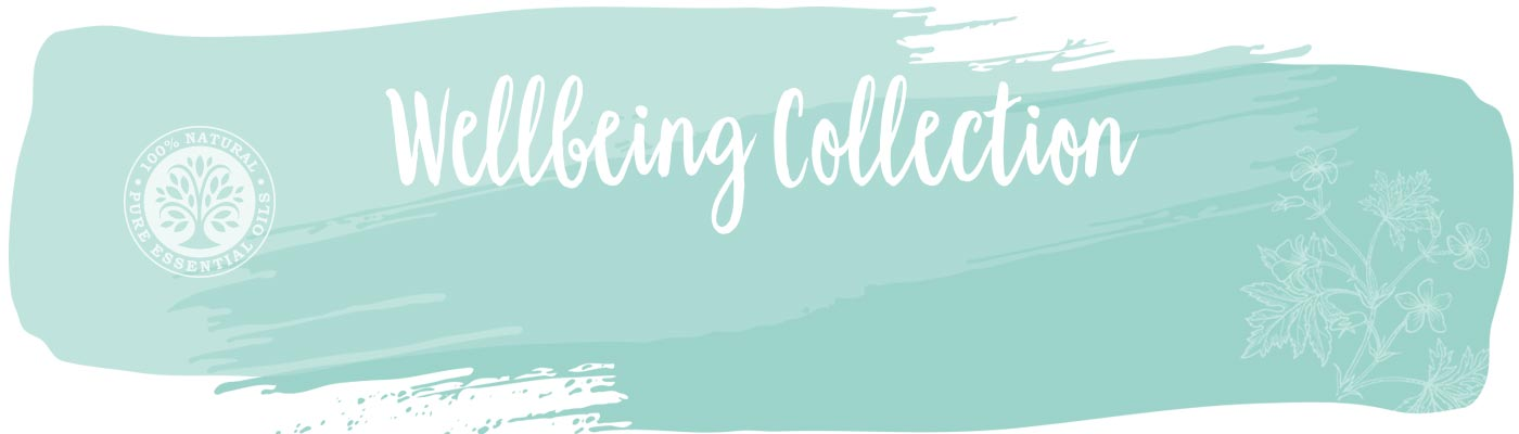 Wellbeing collection front page background