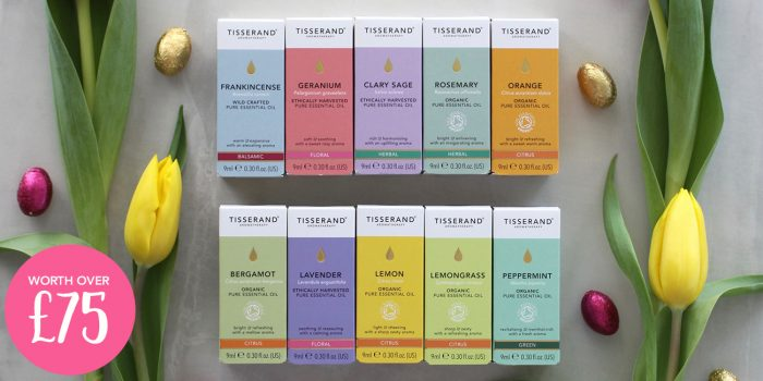Tisserand Aromatherapy Top 10 Essential Oils Easter Giveaway
