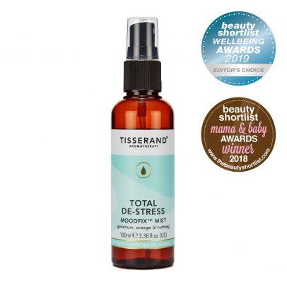 Tisserand Aromatherapy Total De-Stress MoodFix Mist