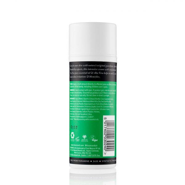 Tea Tree & Aloe Skin Relief Cream Back