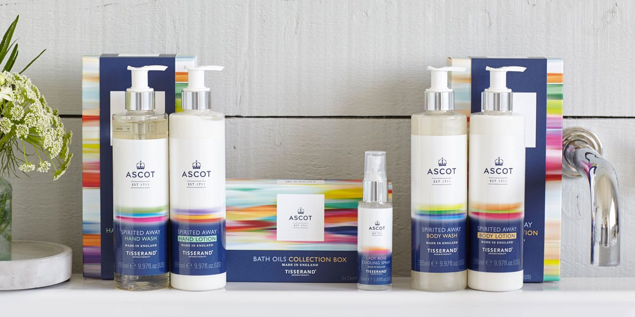 Tisserand Aromatherapy Ascot Collection