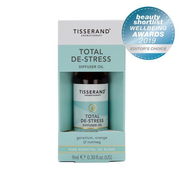 Tisserand Aromatherapy Total De-Stress Diffuser Oil