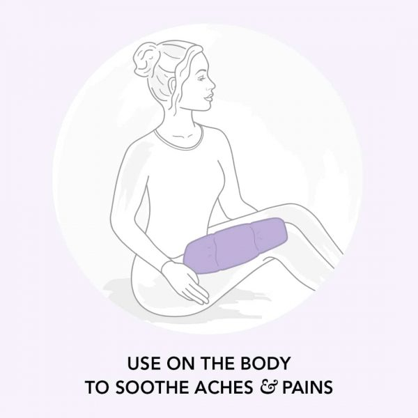 Lavender Warming Body Wrap to soothe aches & pains