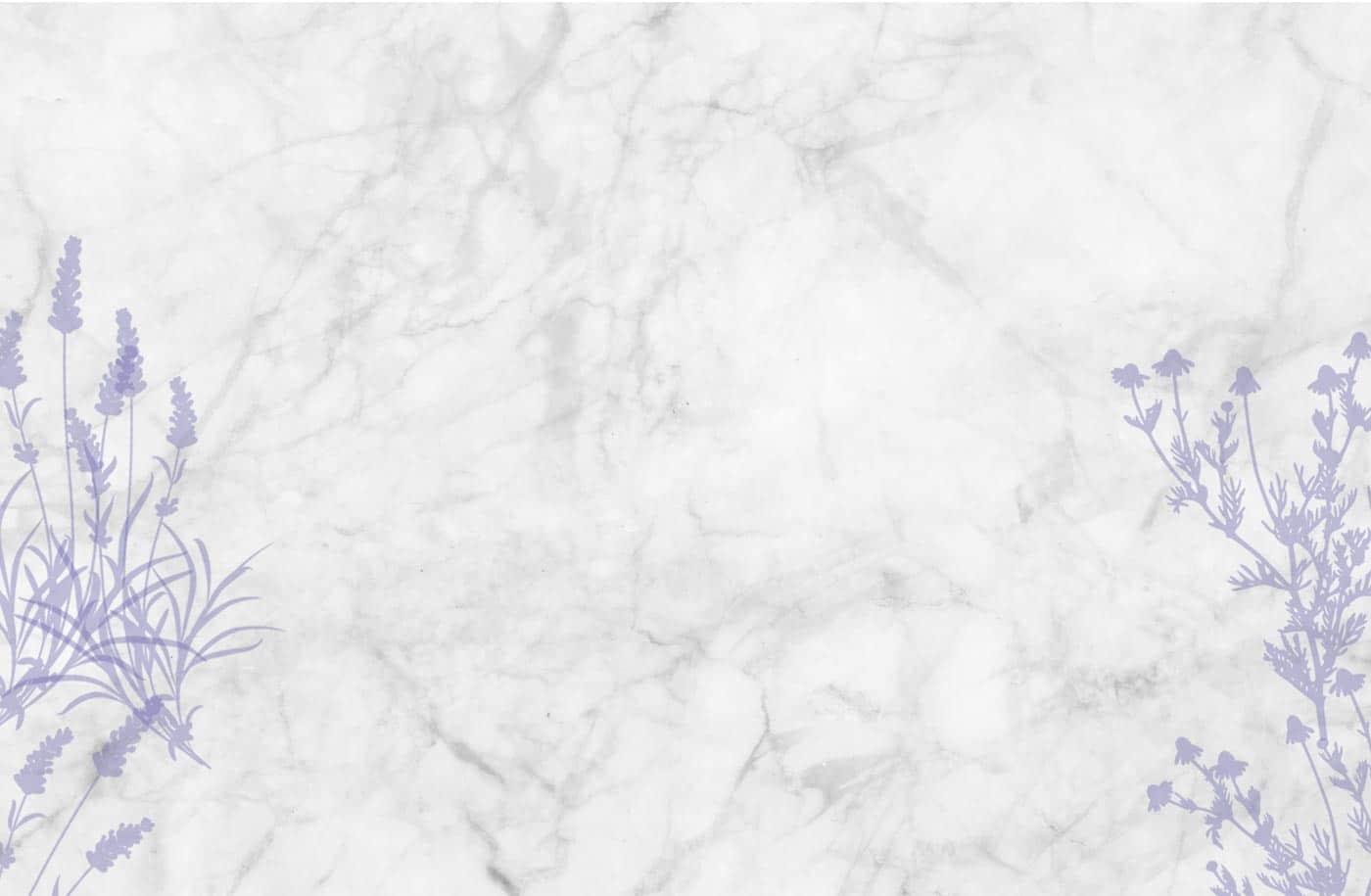 Lavender & Chamomile background