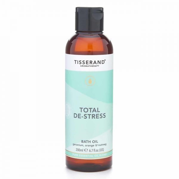Total De-Stress Bath Oil 200ml