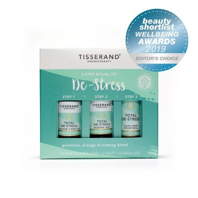 3-Step Ritual to De-Stress Beauty Shortlist Award 2019