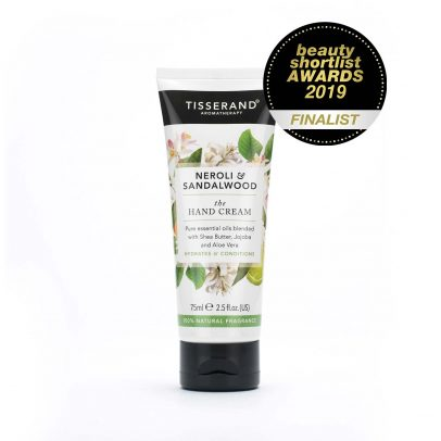 Neroli and Sandalwood Hand Cream Beauty Shortlist Awards Finalist 2019