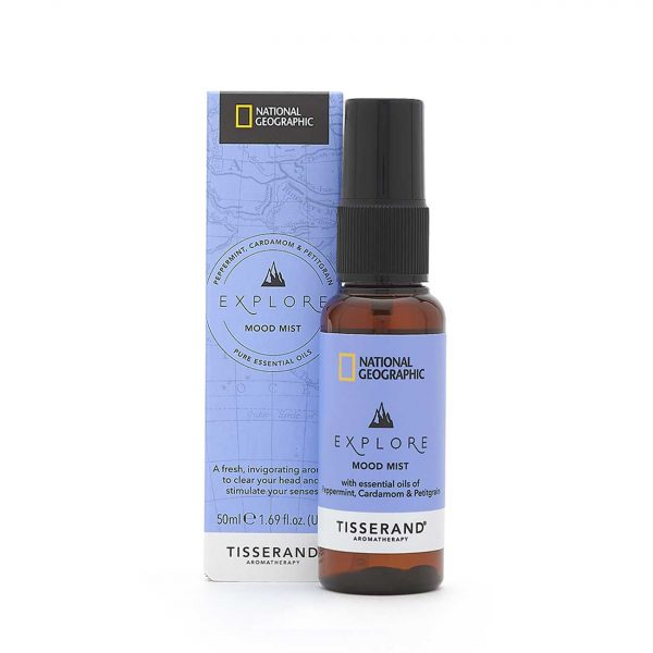 Explore Mood Mist - Tisserand Aromatherapy x National Geographic carton