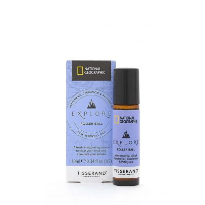 Explore Roller Ball - Tisserand Aromatherapy x National Geographic carton