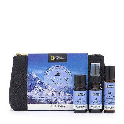 Explore Travel Kit - Tisserand Aromatherapy x National Geographic