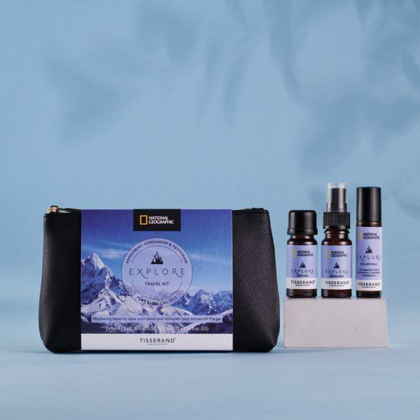 Tisserand Aromatherapy x National Geographic Explore Travel Kit