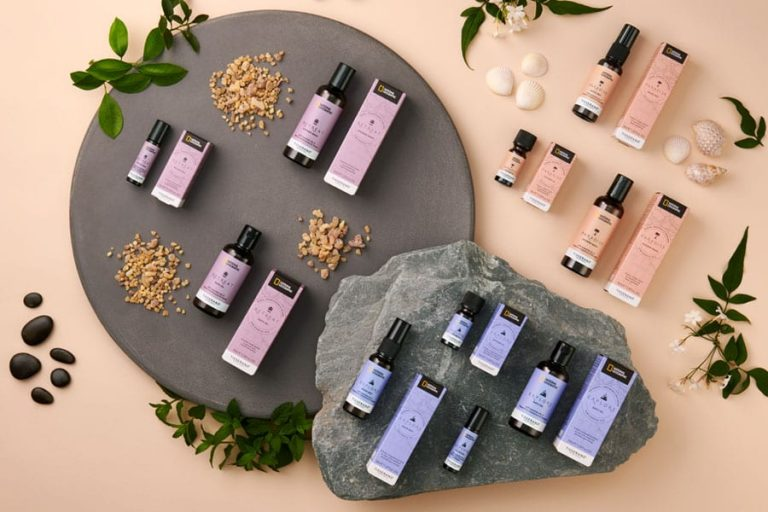 National Geographic and Tisserand Aromatherapy Travel Wellbeing Collection