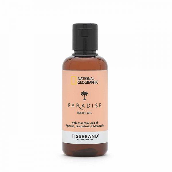 Paradise Bath Oil - Tisserand Aromatherapy x National Geographic