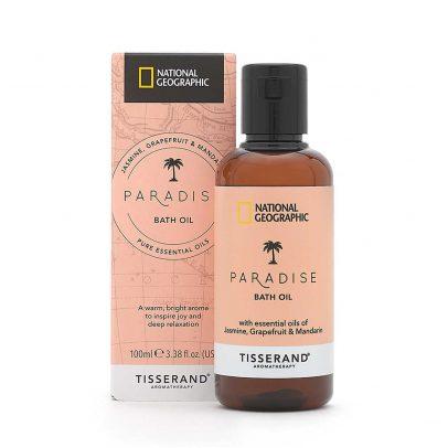 Paradise Bath Oil - Tisserand Aromatherapy x National Geographic carton