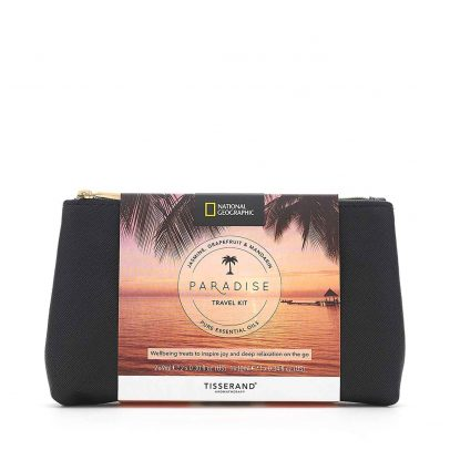 Paradise Travel Kit - Tisserand Aromatherapy x National Geographic bag
