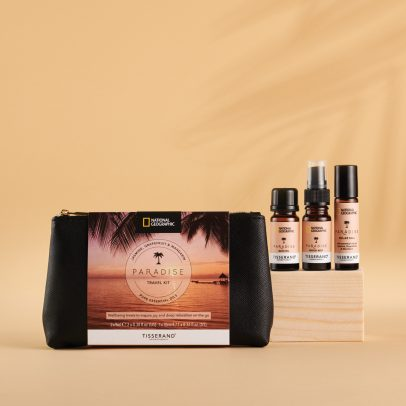 Tisserand Aromatherapy x National Geographic Paradise Travel Kit