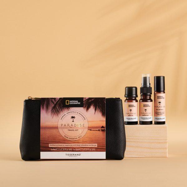 Tisserand Aromatherapy x National Geographic Paradise Travel Kit
