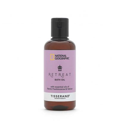Retreat Bath Oil - Tisserand Aromatherapy x National Geographic