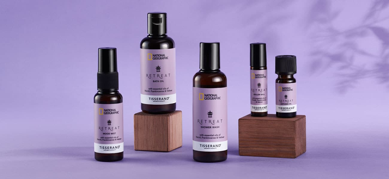 National Geographic and Tisserand Aromatherapy Travel Wellbeing Retreat Collection