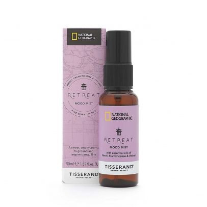 Retreat Mood Mist - Tisserand Aromatherapy x National Geographic carton