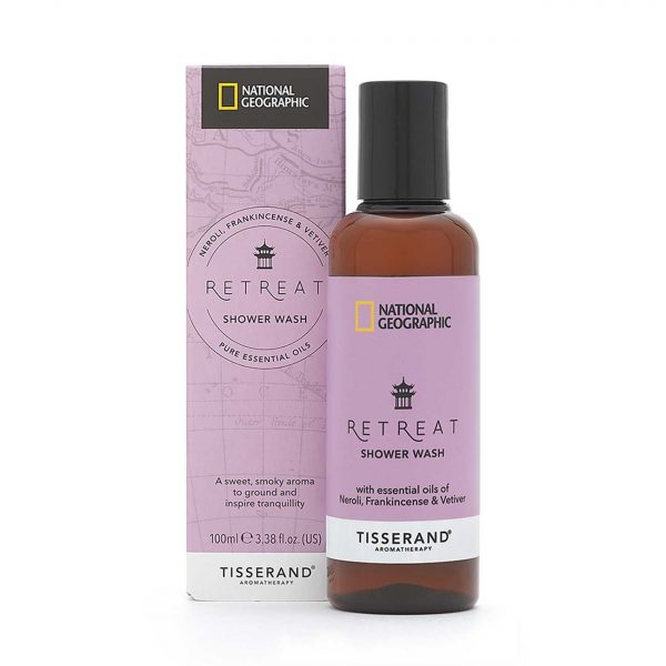 Retreat Shower Wash - Tisserand Aromatherapy x National Geographic carton