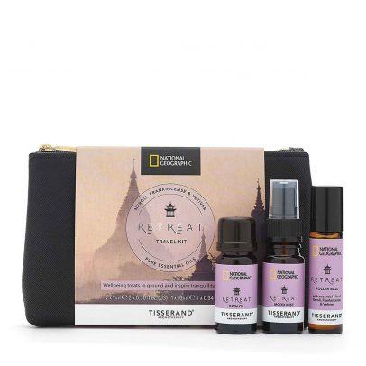 Retreat Travel Kit - Tisserand Aromatherapy x National Geographic