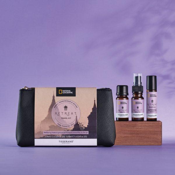 Tisserand Aromatherapy x National Geographic Retreat Travel Kit