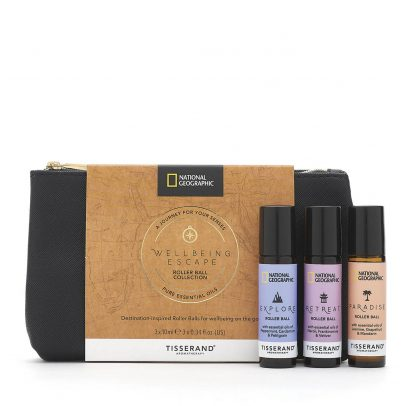 Wellbeing Escape Roller Ball Collection - Tisserand Aromatherapy x National Geographic