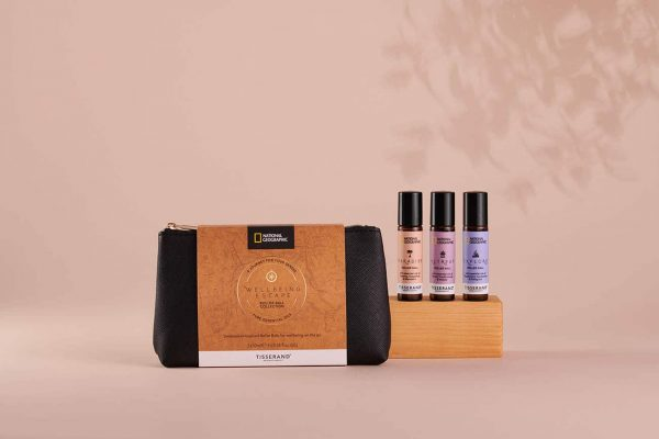 Wellbeing Escape Roller Ball Collection - Tisserand Aromatherapy x National Geographic group