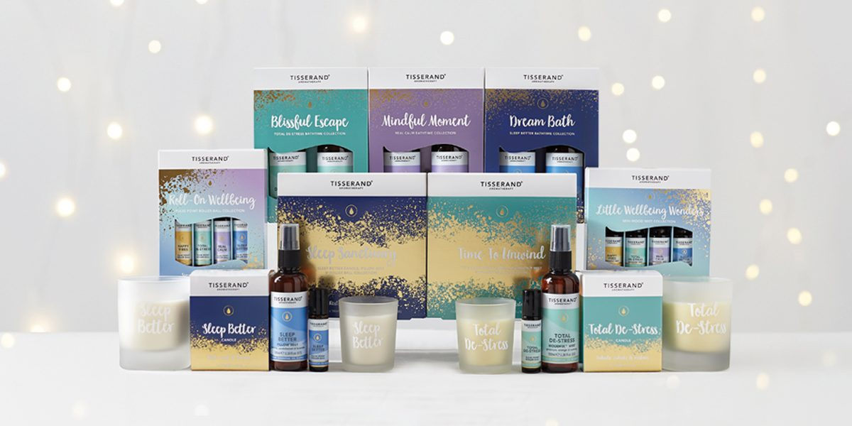 Tisserand Aromatherapy Gifts Of Wellbeing Christmas collection